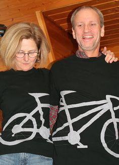 Tandem Bike T-shirts