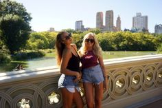 Strolling around in Central Park