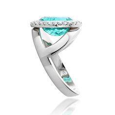 Jochen Leen.  @york_watches Y designed ring, featuring a Paraiba tourmaline…