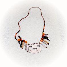 Clown Bridge Necklace Bridge, Necklaces, Jewelry, Fashion, Jewellery Making, Moda, Chain, Jewelery