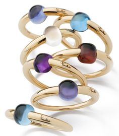 Absolutely in love with these #pomellato rings