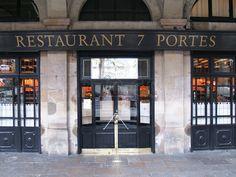 Restaurant 7 Portes (since 1836)  Barcelona