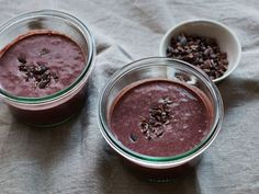 Start your morning with this refreshing Acai, Blackberry and Cacao Smoothie! Acai is a superfood reported to contain more antioxidants than cranberries or any other berry and more grams of protein than eggs.