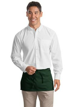 Waist Apron.This apron has long waist ties to fit most sizes.-Arizona Cap Company-(480) 661-0540 Custom Printed & Embroidered.Visit our site for colors available and the price