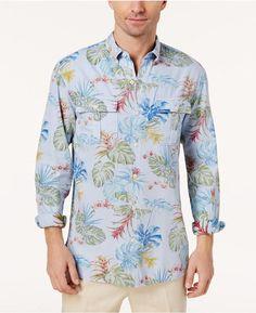 Tommy Bahama Men's Palm-Print Shirt