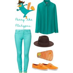 Perry the platypus inspired