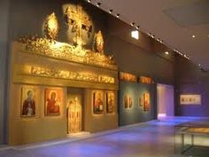 The museum of Byzantine Culture in Thessaloniki.