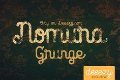 FREE Font - Nomura Grunge on Behance