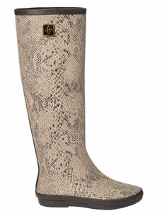 Amazon.com: dav Women's Austin Snake Rain Boot: Shoes