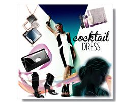 """Cocktail Dress"" by kari-c ❤ liked on Polyvore featuring Christian Louboutin, Tom Ford, Lancôme and cocktaildress"