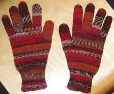 Ravelry: 104-5 Mittens pattern by DROPS design