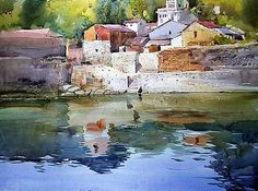 Milind Mulick is famous for his amazing watercolor paintings