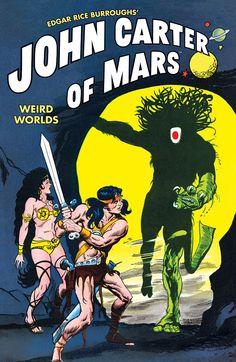John Carter of Mars: Weird Worlds (2011) — Trade Paperback