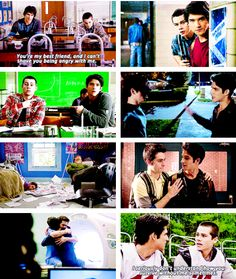 teen wolf: this is seriously my relationship with my best friend except for the fact that we're both human but ya know.