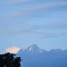 Facing Mount Kenya Mount Kenya, Safari, Mountains, Face, Nature, Travel, Kenya, D Day, Viajes