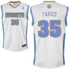 adidas Denver Nuggets Youth Custom Replica Home Jersey- Manchester United f7573a59c