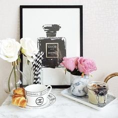 Roses and flowers in general should be an every day thing. Just like breakfast is.  H&M Home Decor | POPSUGAR Home