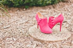 Suede Fuchsia Booties | Photography – The Melideos https://www.theknot.com/marketplace/the-melideos-new-york-ny-564381 | The Mount Nittany Club – State College, PA https://www.theknot.com/marketplace/the-mount-nittany-club-at-beaver-stadium-state-college-pa-532342 |