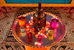 » Estilo oriental   Revista Westwing; ikuminação marcante com lanternas marroquinas