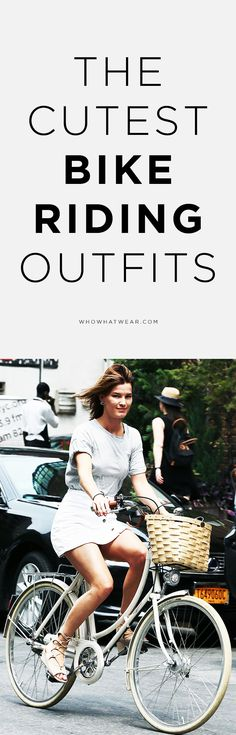 Outfit ideas for bike riding