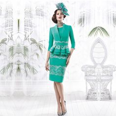 Find More Mother of the Bride Dresses Information about Modest Green Sheath Lace Mother of the Bride Dresses 2016 with Peplum Jackets Knee Length Prom Gowns vestido de madrinha VM21,High Quality dress theme,China dress skinny Suppliers, Cheap dress tissue from do dower LaceBridal Store on Aliexpress.com