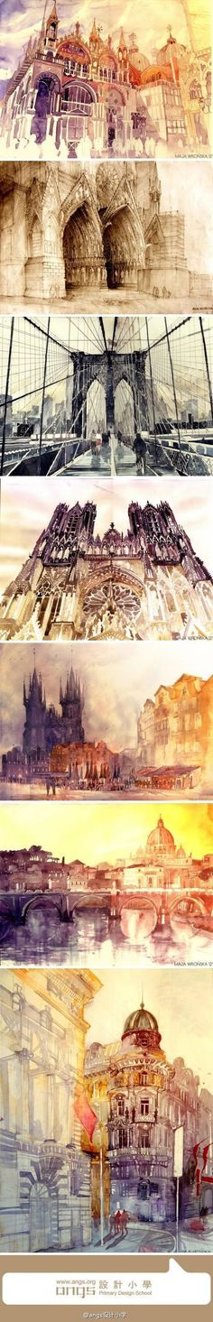 amazing water colours