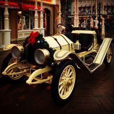 Main Street Vehicles- Disneyland Paris, Christmas 2017