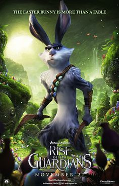 Rise Of The Guardians - Easter Bunny (coolest bunny ever!!!!)