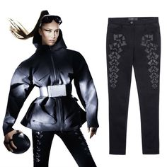 Alexander Wang x H&M Black Jeans Alexander Wang x H&M Black Jeans. Never worn press sample. Size: Euro 36. Alexander Wang Jeans Skinny