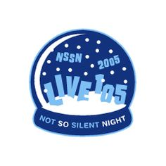 this logo was created by gregg gordon gigart for the san francisco bay area radio station live and their holiday concert event not so silent night - Bay Area Christmas Radio Stations