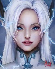 Eurdora Mobile Legend Wallpaper, Hero Wallpaper, Moba Legends, Alucard Mobile Legends, Legend Drawing, The Legend Of Heroes, Anime Girl Neko, League Of Legends Characters, Hanabi