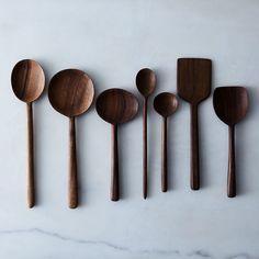 25 New Ideas Brown Wood Kitchen Wooden Spoons Cooking Utensils, Kitchen Utensils, Cooking Tools, Kitchen Items, Kitchen Gadgets, Cooking Spoon, Bohemian Kitchen, Kitchenware, Tableware
