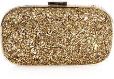 Anya Hindmarch Marano dancer glitter box-clutch
