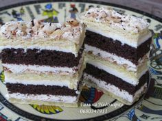 Рецепти тортів та тістечок Russian Pastries, Russian Cakes, Russian Desserts, Russian Recipes, Delicious Cake Recipes, Yummy Cakes, Traditional Cakes, Pastry Cake, Seafood Dishes