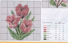 Gallery.ru / Фото #94 - разные цветочные схемы - irisha-ira