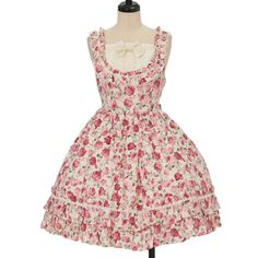 ♥ BABY THE STARS SHINE BRIGHT ♥ Floral jumper skirt http://www.wunderwelt.jp/products/detail11672.html ☆ ·.. · ° ☆ How to order ☆ ·.. · ° ☆ http://www.wunderwelt.jp/user_data/shoppingguide-eng ☆ ·.. · ☆ Japanese Vintage Lolita clothing shop Wunderwelt ☆ ·.. · ☆