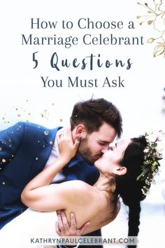 With so many marriage celebrants around, it is difficult to know who to choose. These 5 questions will simplify your choice >> #Weddings, #marriage, #celebrant, officiant, order of service, ceremony, bride, groom, same sex, love, #relationships, couples, sexuality, gender & body diversity, sydney, northern beaches > read more at kathrynpaulcelebrant.com