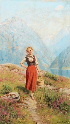Hans Dahl ! Norwegian painter