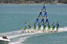1602 ken thompson parkway every sunday at 2pm free. Sarasota Ski-A-Rees Water Ski Show