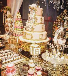 princess baby shower cake centerpiece
