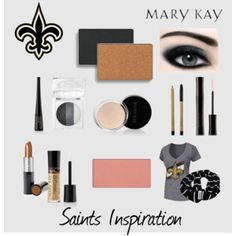 Game Day Inspiration - New Orleans Saints http://www.marykay.com/bobbiesue