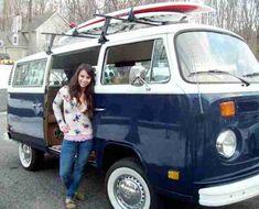 Girl's Brilliant Backside Wins Her VW Bus, Gallery 1 Volkswagon Van, Volkswagen Minibus, Volkswagen Type 2, Vw T1, Vw Bus T2, Bus Camper, Vw Bus For Sale, Combi Ww, Hot Vw
