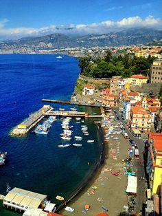 Fishing Village & Beach Clubs - Sorrento, Italy