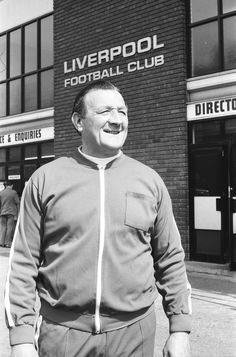 Bob Paisley at Anfield after taking over as Liverpool manager following the resignation of Bill Shankly, 26th July 1974