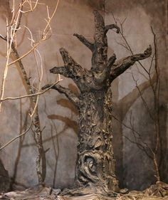 Another awesome paper mache tree created for Westfield High School Theatre's The Crucible.  www.give-em-props-studio.com