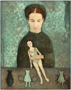 Piia Lehti: Nukkeleikki / Playing with Dolls, 2005