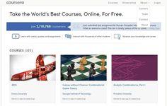 Coursera incorporar 29 organizaciones educativas, ofreciendo más de 400 cursos en línea y gratis