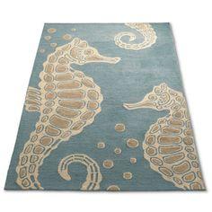 Sea Horse Outdoor Rug...WANT