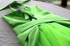 tutorial for tinkerbell costume I am in love with!