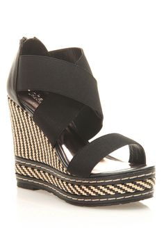 OMG I just bought these!!!!  Charles by Charles David Letti Wedges In Black